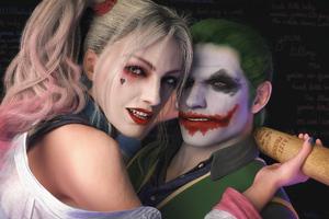 Joker Harley 4k