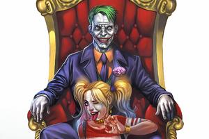 Joker Harley Quinn 4k Art Wallpaper