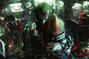 Joker Harley Quinn 4k