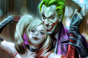 Joker Harley Quinn Artwork