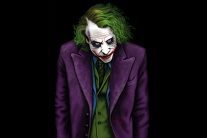 Joker Heath Ledger Art