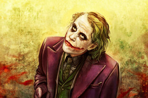 Joker Heath Ledger Art 4k 2019