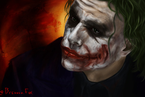 Joker Heath Ledger Arts