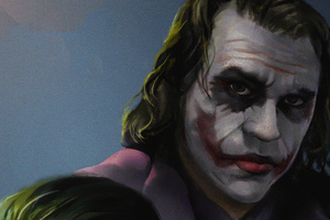 Joker Heath Ledger Artwork 2020