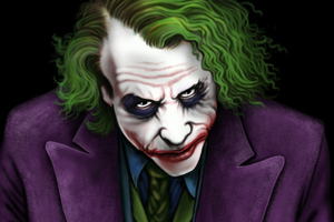 Joker Heath Ledger Artworks