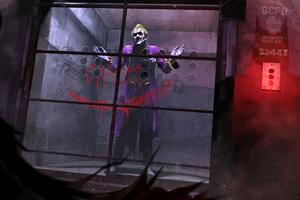 Joker In Cage