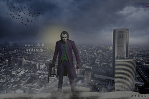 Joker In Gotham City