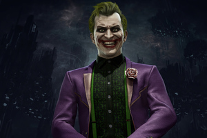 Joker In Mortal Kombat 11 2020 Wallpaper