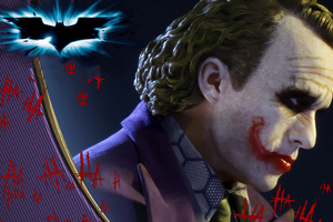 Joker In The Dark Knight 4k