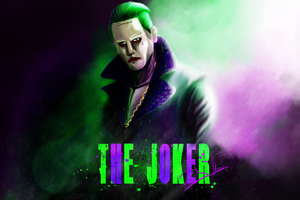 Joker Jared Leto Artwork 5k