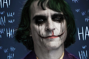 Joker Joaquin Phoenix Art 4k Wallpaper