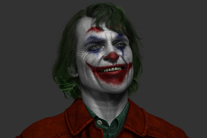 Joker Joaquin Phoenix Artwork 4k