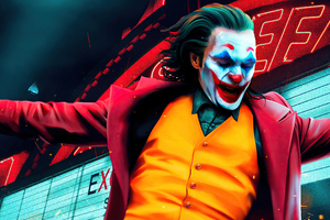 Joker Joaquin Phoenix Dancing 4k Wallpaper