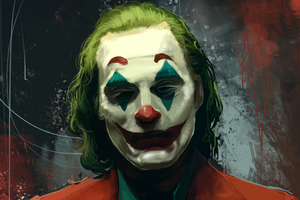 Joker Joaquin Phoenix Movie Artwork Wallpaper