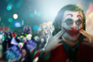 Joker Keep Smiling 5k Wallpaper
