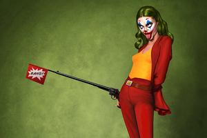 Joker Lady 4k