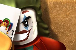 Joker Lego Art Wallpaper