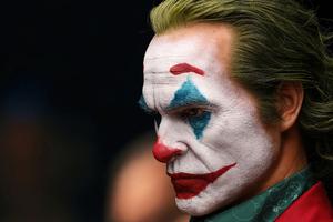 Joker Life Size Bust 4k Wallpaper