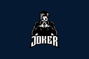 Joker Mascot Minimal 4k Wallpaper