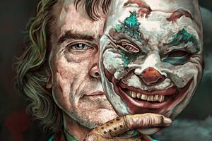 Joker Mask Off