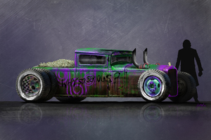 Joker Motorcar 4k
