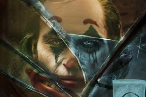 Joker Movie Broken Glass Wallpaper