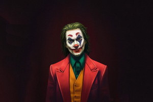 Joker Movie Joaquin Phoenix Art Wallpaper