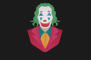 Joker Movie Minimalism Wallpaper