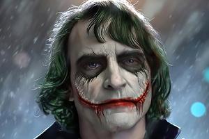 Joker Not Happy Wallpaper