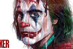 Joker Paint Splash Art 4k Wallpaper