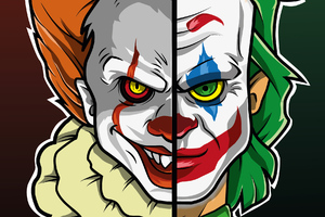 Joker Pennywise