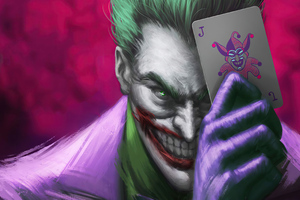 Joker Play Card 4k Wallpaper