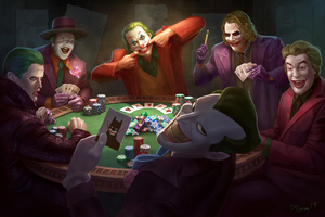 Joker Poker 4k Wallpaper