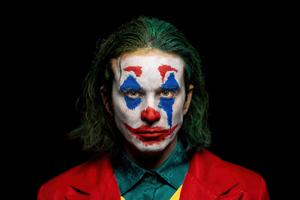 Joker Put On A Happy Face 5k Wallpaper