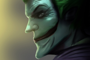 Joker Side Face