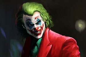 Joker Smile Supervillian