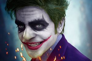 Joker Smiling 4k