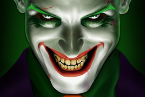 Joker Smiling 5k Wallpaper