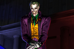 Joker Smiling Art Wallpaper