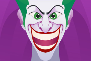 Joker Smiling Artwork Wallpaper