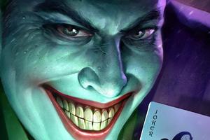 Joker Smiling Artwork New