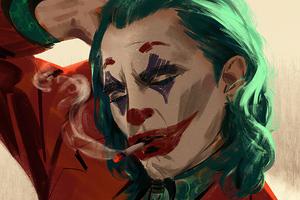 Joker Smoke Artwork