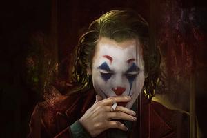 Joker Smoker 4k Wallpaper