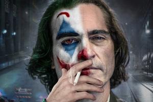 Joker Smoking 4k Wallpaper