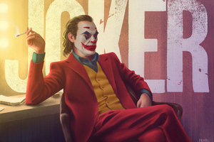 Joker Smoking