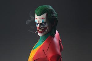 Joker Smoking 5k Wallpaper