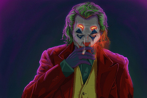Joker Smoking Man