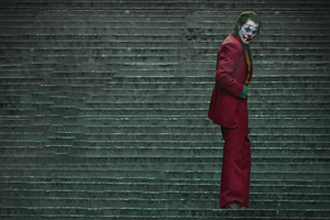 Joker Stair Wallpaper