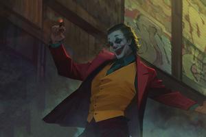 Joker Stairs Dance 2020 Wallpaper