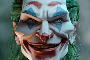Joker Strange Face 4k Wallpaper
